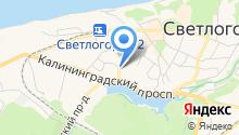 Балтик-Тур на карте