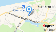 Архив Светлогорского района, МКУ на карте