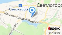 Светлогорская центральная районная поликлиника на карте