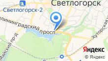 Центр социальной поддержки населения на карте