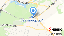 Участковый пункт полиции Светлогорский на карте