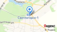 Отдел ГИБДД, Межмуниципальный отдел МВД России Светлогорский на карте