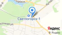 РКЦ Светлогорского Района, МУП на карте