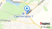 Светлогорский городской суд на карте