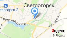 Светлогорская межрайонная прокуратура на карте