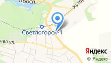 Секонд-хенд на Калининградском проспекте на карте