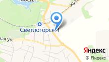 Светлогорский производственный участок на карте