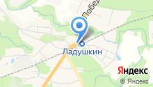 Билайн, оператор мобильной связи на карте
