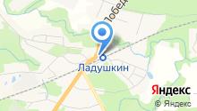 Магазин одежды на ул. Победы на карте
