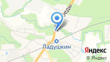 Магазин строительных материалов на ул. Победы на карте