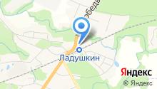 Вест-марка на карте