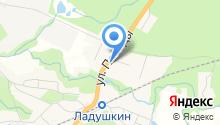 АЗС Разгон на карте