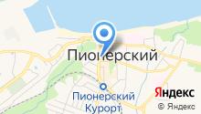 Магазин рыбной продукции на карте