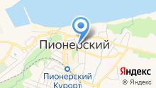 Городская библиотека на карте