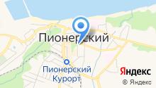 Магазин цветов на Советской на карте