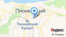 Баня, МУП на карте