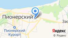 Модуль Центр на карте