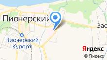 Бюро судебно-медицинской экспертизы Калининградской области на карте