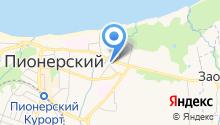 Янтарная мастерская Олега Давыдова на карте