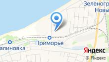 Прибалтийский силуэт на карте