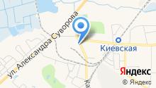 Пожарно-спасательная часть №4 Московского района на карте