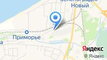 Служба заказных перевозок на карте