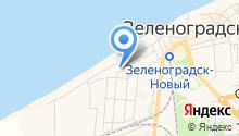 Сток-центр на Первомайской на карте