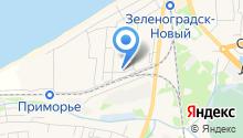 Рыбный магазин на карте