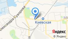 Авто-интер на карте