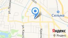 Матадор на карте