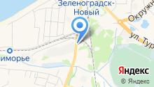 Пожарно-спасательная часть №15 Зеленоградского муниципального района на карте