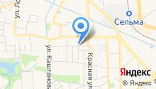 АвтоМагазин на Захарова на карте