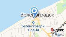 Администрация муниципального образования Зеленоградского района на карте