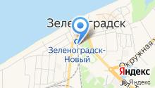 Вокзальная на карте