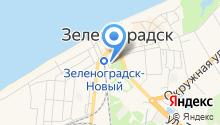 Продовольственный магазин на Вокзальной на карте