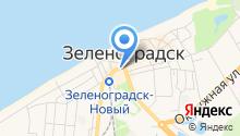 Архив Зеленоградского муниципального района на карте