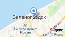 Отдел пенсионного фонда России в Зеленоградском районе на карте