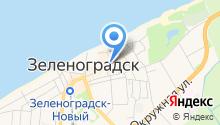 Судебный участок Зеленоградского района Калининградской области на карте