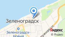 Фонд поддержки малого и среднего предпринимательства Зеленоградского района на карте