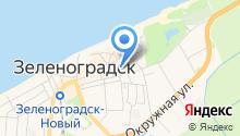 Зеленоградский районный суд на карте