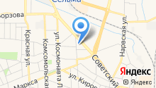 Автомойка на ул. Алябьева на карте