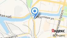 Ниссан-центр на карте