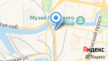 Хонда на Портовой на карте