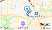 Bazza на карте