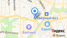Региональный информационный центр туризма на карте
