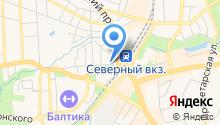 У Быков на карте