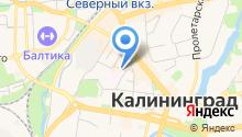Управление Федеральной антимонопольной службы России по Калининградской области на карте