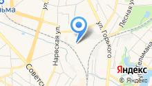 Аварийно-диспетчерская служба теплосети на карте