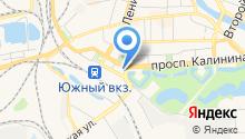 HD на карте