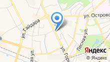 EMS Экспресс-почта на карте